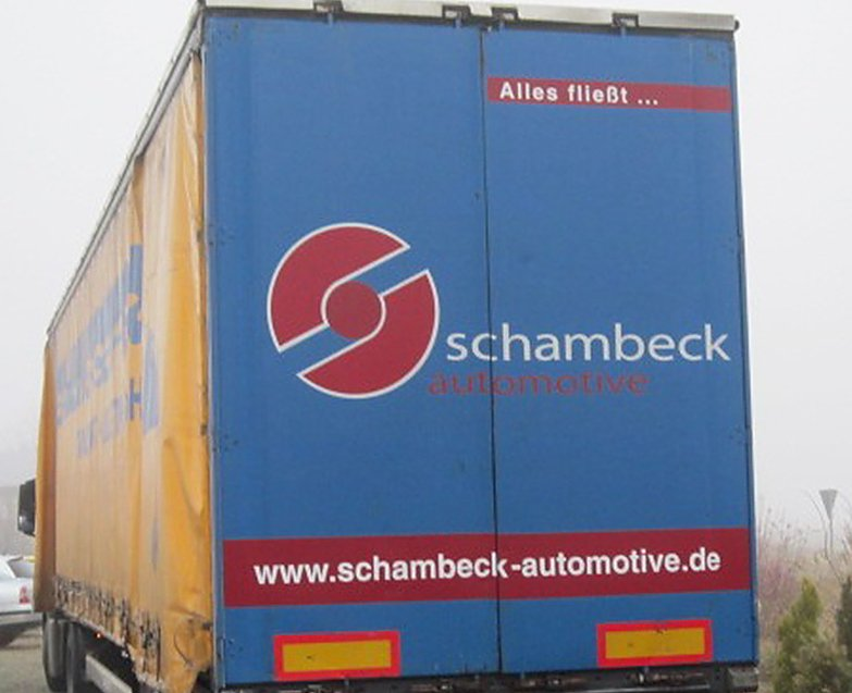 Logistika - kamion Logo